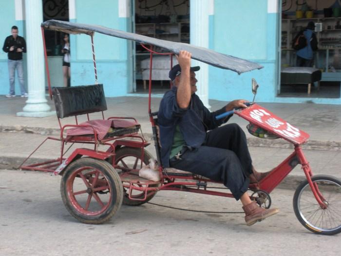 Local transport at Caibarién, Villa Clara, Cuba