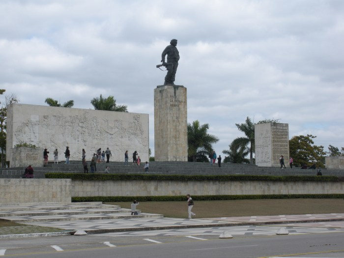 Masoleum of Che Guevara in Santa Clara, Cuba