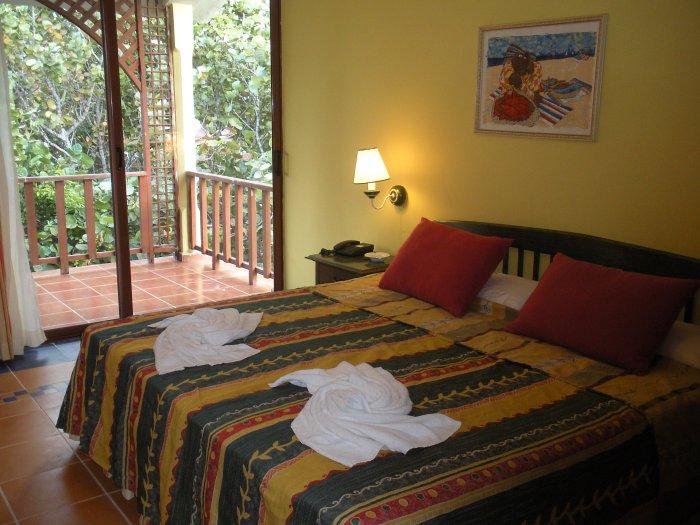 Typical suite at Sol Cayo Santa Maria resort, Cuba