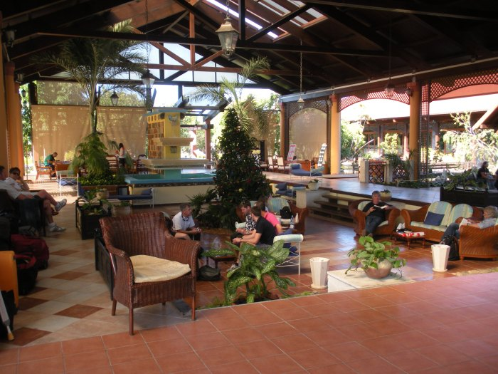 Reception Lounge at Sol Cayo Santa Maria resort, Cuba