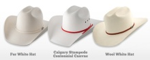 Photo Credit: Smithbilt Hats - The Official Hat maker for City of Calgary and the Calgary Stampede