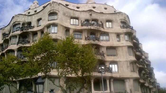 La Pedrera Casa Milà Gaudí Barcelona