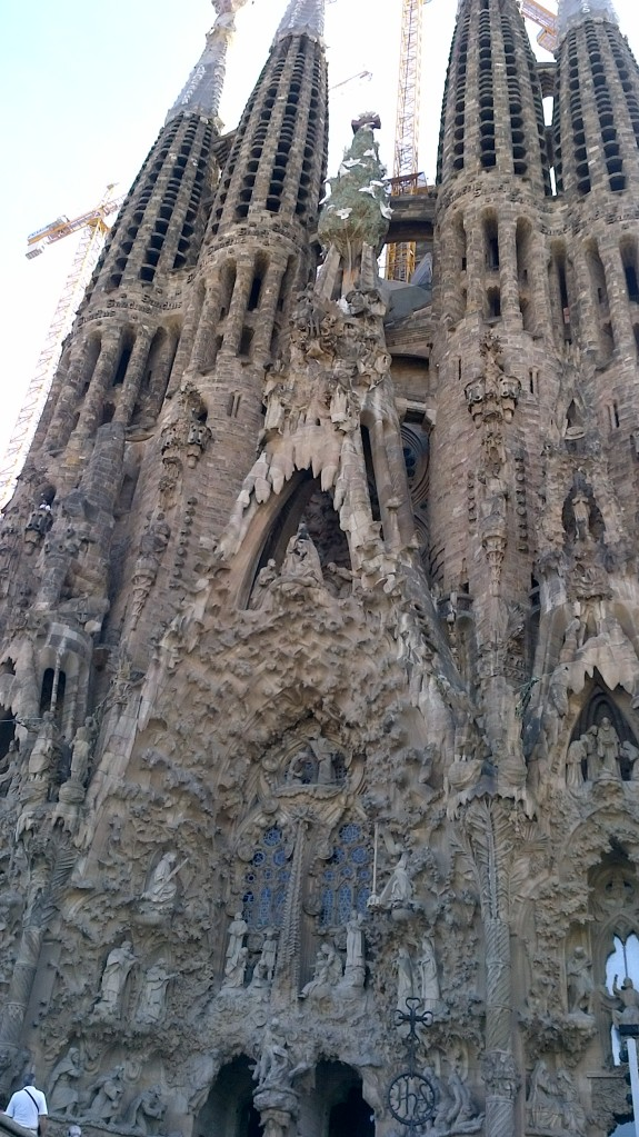 La Sagrada Família Barcelona Gaudi Architecture