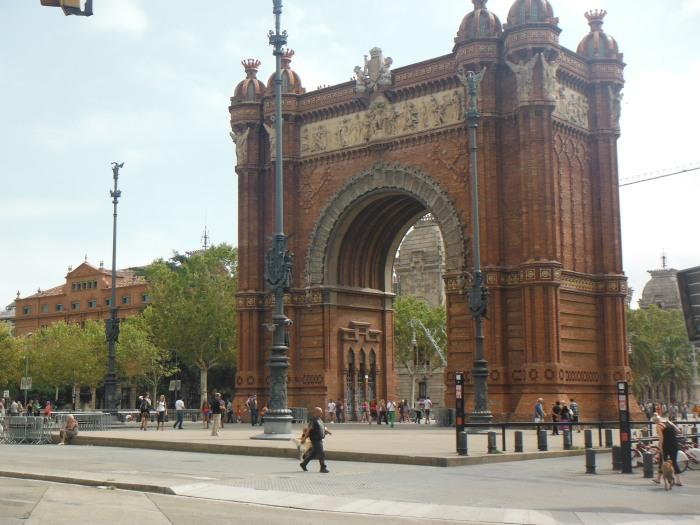 The Arc de Triomf Barcelona