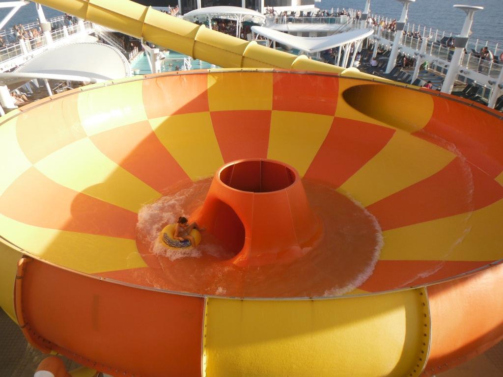 larkycanuck.com | Travel Adventures | Norwegian Cruise Line (NCL) | Water Slides