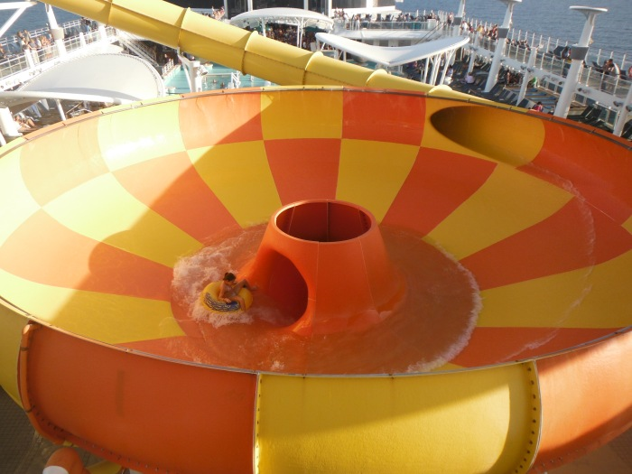 larkycanuck.com | Travel Adventures | Norwegian Cruise Line (NCL) | Water Slides