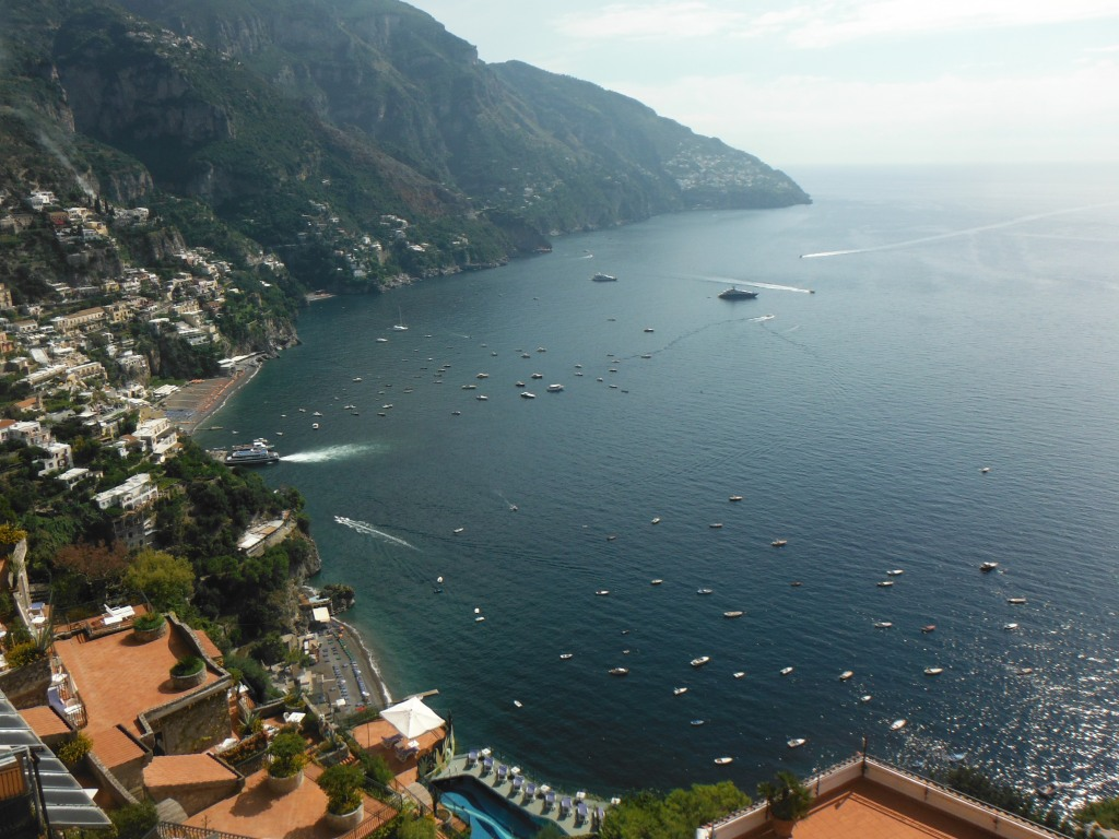 Welcome to one of the most beautiful places on planet earth - Amalfi Coast. See they don't have stuff like this on Mars. So I don't understand why they fuss over the red planet.