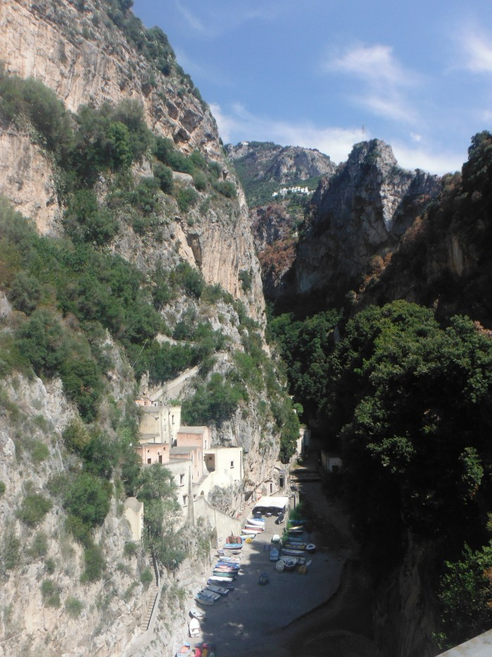 A small hamlet along Amalfi Coast