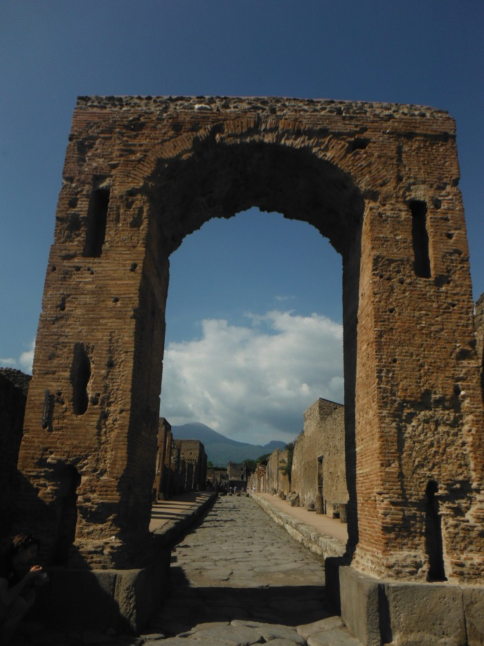 One of the main entrance arches to the ancient city