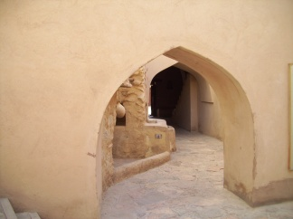 Winding ways of Nizwa Fort