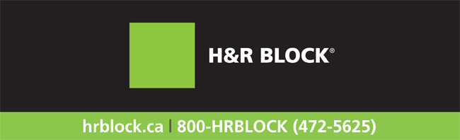 H&R Block web banner