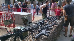 Who says only in US can you get assault rifles for sale to public