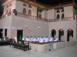 A replica of actual Omani village found in the annual Muscat Festival