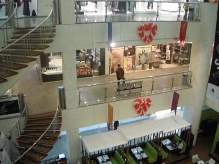 A modern Mall in Muscat, Oman