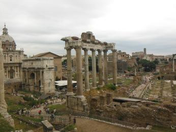 Ruins of the ancient Roman Senate