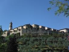 Tuscany's wine country hamlet