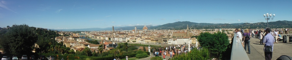 Panoramic view of Fiorenza (Florence)