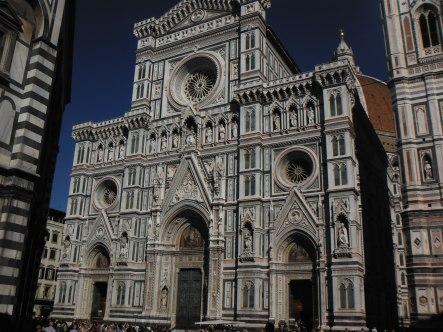 Front facade of Basilica of San Lorenzo