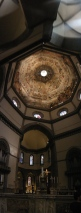 Dome of Basilica of San Lorenzo. It is largest dome with no scaffolding and third largest cathedral in the world