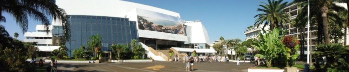 The auditorium that hosts the annual Cannes Film Festival