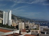 Vista of Montecarlo cityscape (taken from Monaco-Ville)