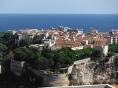 Vista of Monaco cityscape (taken from Monaco-Ville)