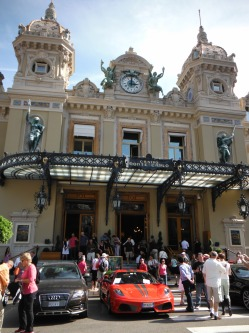 The Monte Carlo Casino is a gambling and entertainment complex located in Monte Carlo, Monaco. It includes a casino, the Grand Théâtre de Monte Carlo, and the office of Les Ballets de Monte Carlo