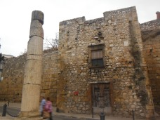 Beautiful medieval century architecture