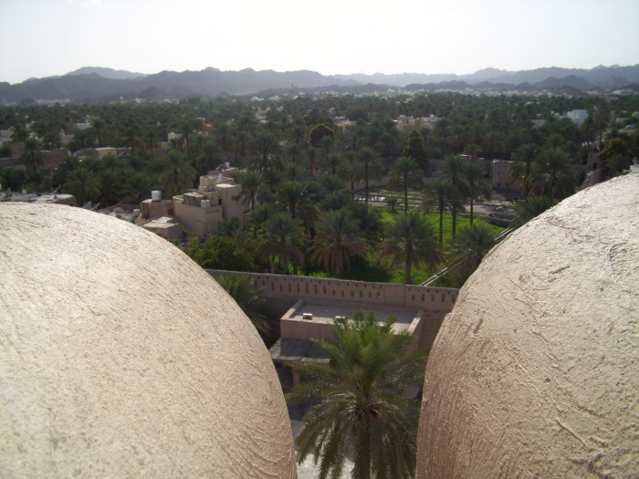 View of the City of Nizwa from the fort