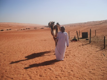 Our Omani Guide in the Wahiba Sands