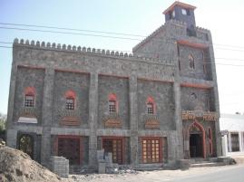 Replica of a historic Omani village trader's house