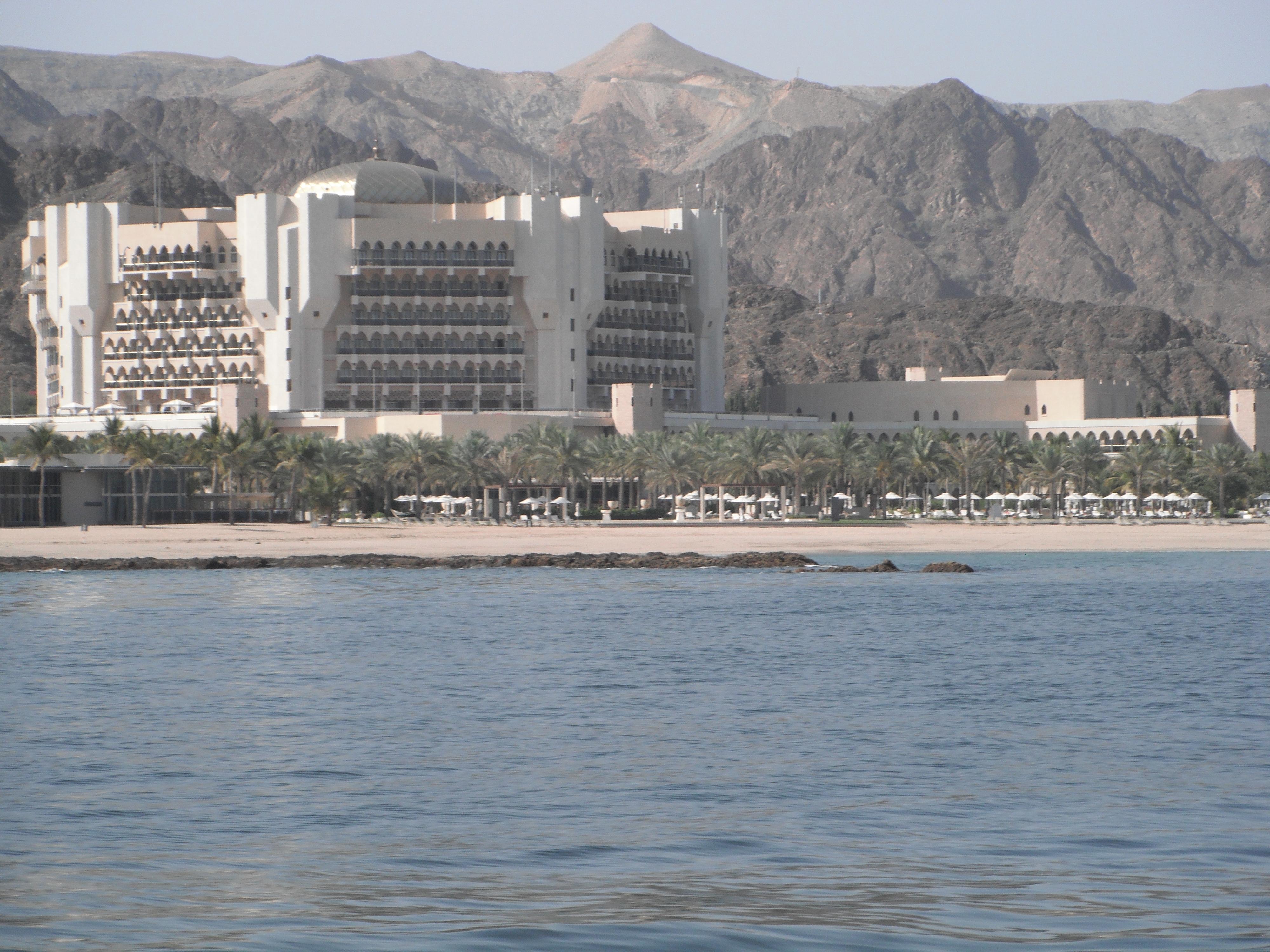 Ultra-luxe Al-Bustan Palace Hotel