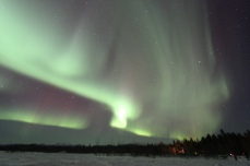 Northern Lights - Aurora Borealis Tour in Whitehorse | Yukon | Canada | Travel Adventures | Larkycanuck.com
