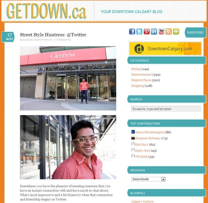 Street Style Huntress interviews Larkycanuck for Getdown.ca