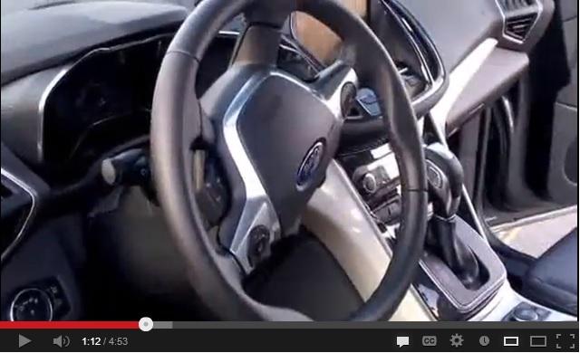 ford c-max hybrid video
